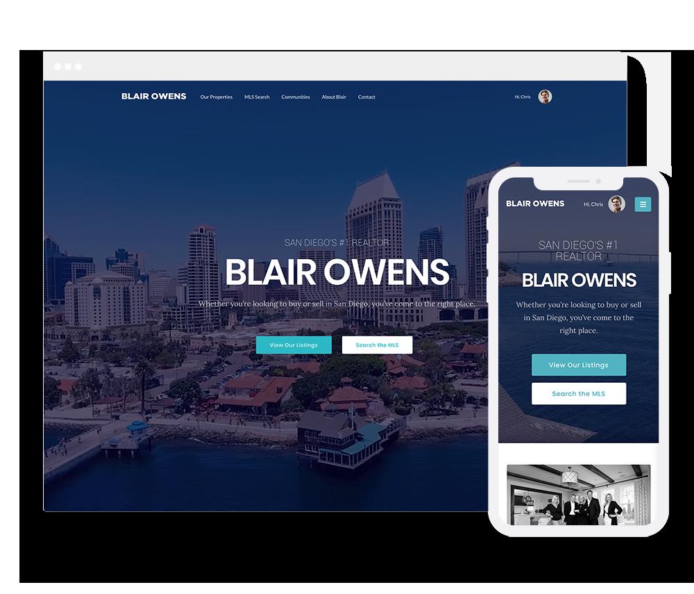 Elementor Prebuilt IDX Website Design 2
