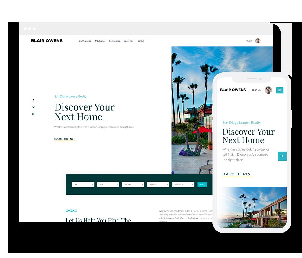 Elementor Prebuilt IDX Website Design 3