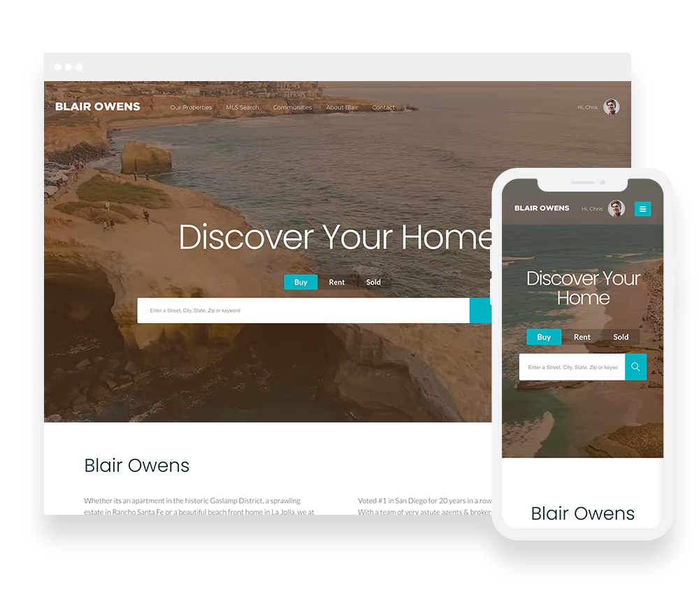 Elementor Prebuilt IDX Website Design 4